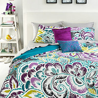 Nadia 3 Piece Full/Queen Comforter Set