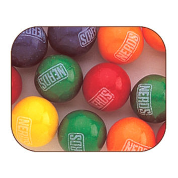 Nerds Candy Filled Gumballs: 700-Piece Case