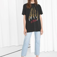 & Other Stories | Leo Claw Tee | Leo Print