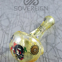 Boro Syndicate x Team Death Star Mini Fumed Spoon Pipe