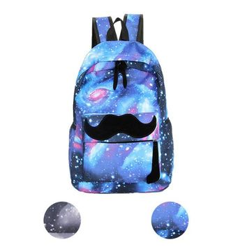 Galaxy Pattern Casual Backpack