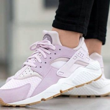 Best Online Sale Nike Air Huarache 1 Women Running Sport Casual Shoes Sneakers - 01