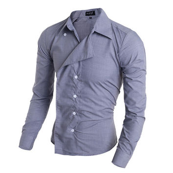 Unique Men's Style Button Shirt