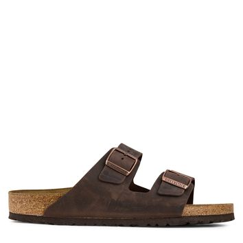 Birkenstock Arizona Soft Footbed Oiled Leather Men's - Habana