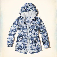 Girls Active Nylon Parka | Girls Clearance | HollisterCo.com