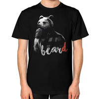 BearD Unisex T-Shirt (on man)
