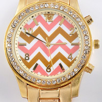 The Eye-Catcher Chevron Watch