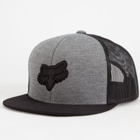 Fox Evade Boys Trucker Hat Gray One Size For Women 25610711501