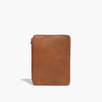 The Leather iPad® Case : shopmadewell pouches & wallets | Madewell