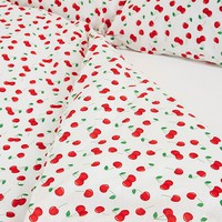 Cherry Print Duvet Cover Set | Urban Outfitters