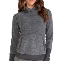 alo Shelter Poncho in Charcoal
