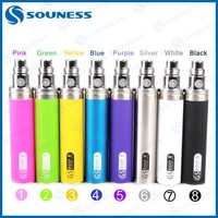 Big Capacity 2200mah souness EGO 1 week Battery For Electronic Cigarette Ego 510 Thread Battery Multi Colors (1*ego one week II)