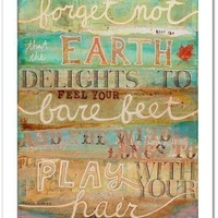 Forget Not  8 x 10 paper print by maechevrette on Etsy