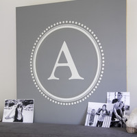Aeropostale  Monogram & Alphabet Wall Decals - White