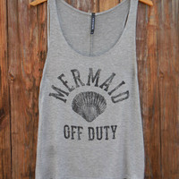 Mermaid Off Duty Tank [7283] - $21.00 : Feminine, Bohemian, & Vintage Inspired Clothing at Affordable Prices, deloom