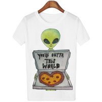 Women's Alien Friends T-shirt