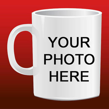 Personalised Photo Mug Your Own Photo On A Mug Present for Mug Design