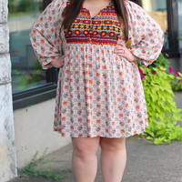 Desert Wanderer Tunic Dress {Curvy}
