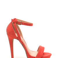 Worldly Woman Faux Suede Heels