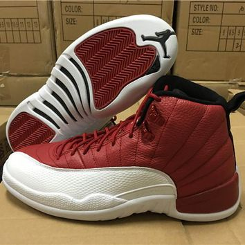 Air Jordan 12 Retro Alternate Gym Red AJ12 Sneakers - Best Deal Online