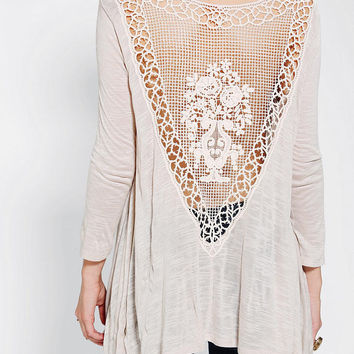 Urban Outfitters - Staring At Stars Crochet-Back Top