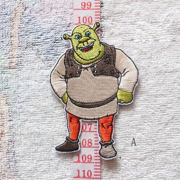 Shrek the Musical Embroidery Patches / A64 Movie TV Patches