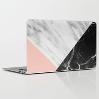 Marble Collage Laptop & iPad Skin by Cafelab