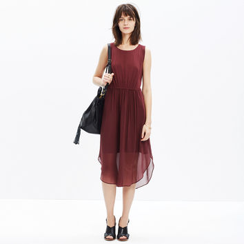 Crepe Lakeshore Midi Dress
