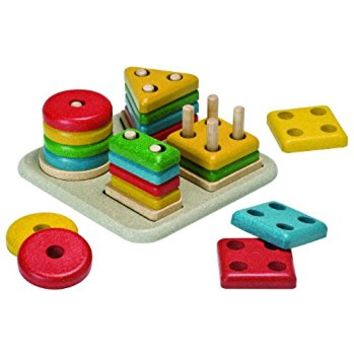 Plan Toys Preschool Sorting Board