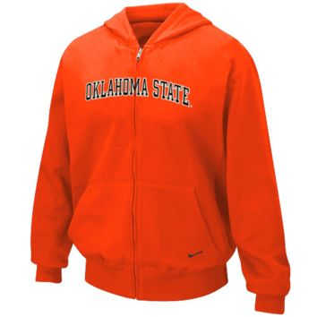 Nike Oklahoma State Cowboys Youth Orange Arch Full Zip Hoodie Sweatshirt - http://www.shareasale.com/m-pr.cfm?merchantID=7124&userID=1042934&productID=524883993 / Oklahoma State Cowboys