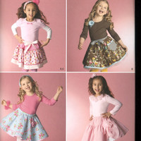 SIMPLICITY Pattern 2356 -  Designs by Teri  - Sewing Pattern - New Uncut - Girls Fashions - Sizes 3 to 8 - Skirts, Slips and Accessories