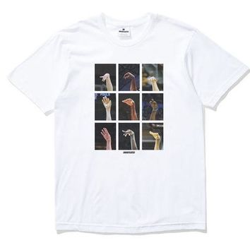 ONETOW Undefeated Following Through Tee In White