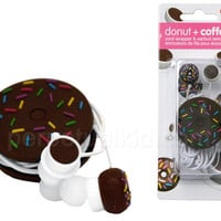DONUT EARBUD & CORD WRAPPER