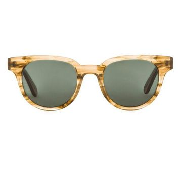 Light Tortoise Acetate Frame Sunglasses by Han Kjobenhavn