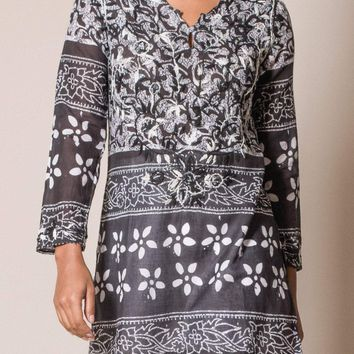Asha Tunic - Black - Small Only