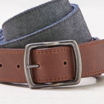AEO Men's Reversible Belt (Grey)