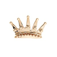 Yellow-gold Queen Crown earring | Alison Lou | MATCHESFASHION.COM US