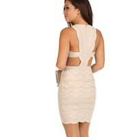Ivory Lady Like Dress