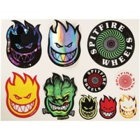 Spitfire Big Head Swirl Sticker Pack at CCS
