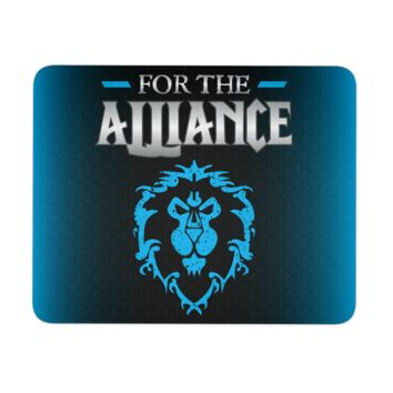 """World of Warcraft """"For the Alliance"""" Mouse Pad"""