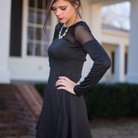 Fit To Flirt Dress, Black