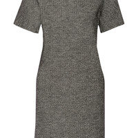 Tomas Maier - Herringbone cotton and wool-blend dress