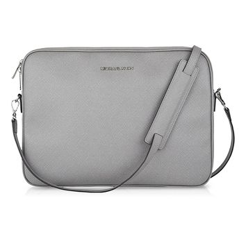 "Michael Kors Macbook Pro / Pro Retina 13"" Sleeve Case Crossbody Grey"