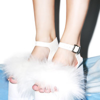 Current Mood Cloud Nine Sandals White