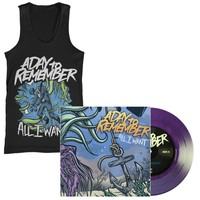 A Day To Remember: All I Want Vinyl and Tank Top Package
