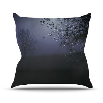 "Monika Strigel ""Song of the Nightbird"" Throw Pillow"