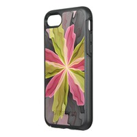 No Sadness, Joy, Fantasy Flower Fractal Art OtterBox Symmetry iPhone 7 Case