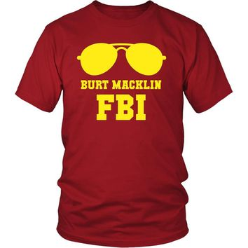 Parks and Recreation T Shirt -  Burt Macklin FBI - TV & Movies
