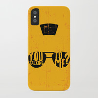 Taxi Driver - you talking to me? iPhone Case by g-man
