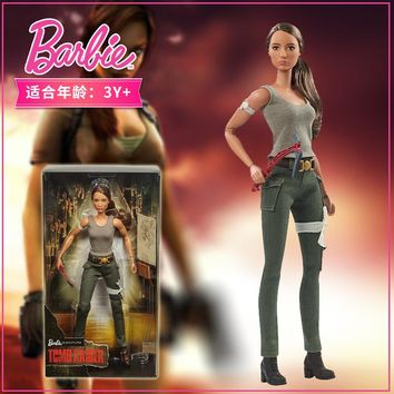 Limited Collection Version Barbie Doll Big Nature Tomb Raider Barbie Gift Set Girl Princess Toy Doll Birthdays Gift FJH53